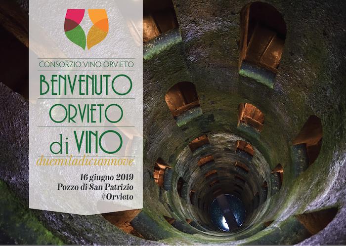 Benvenuto Orvieto diVino, appuntamento il 16 giugno al Pozzo di San Patrizio